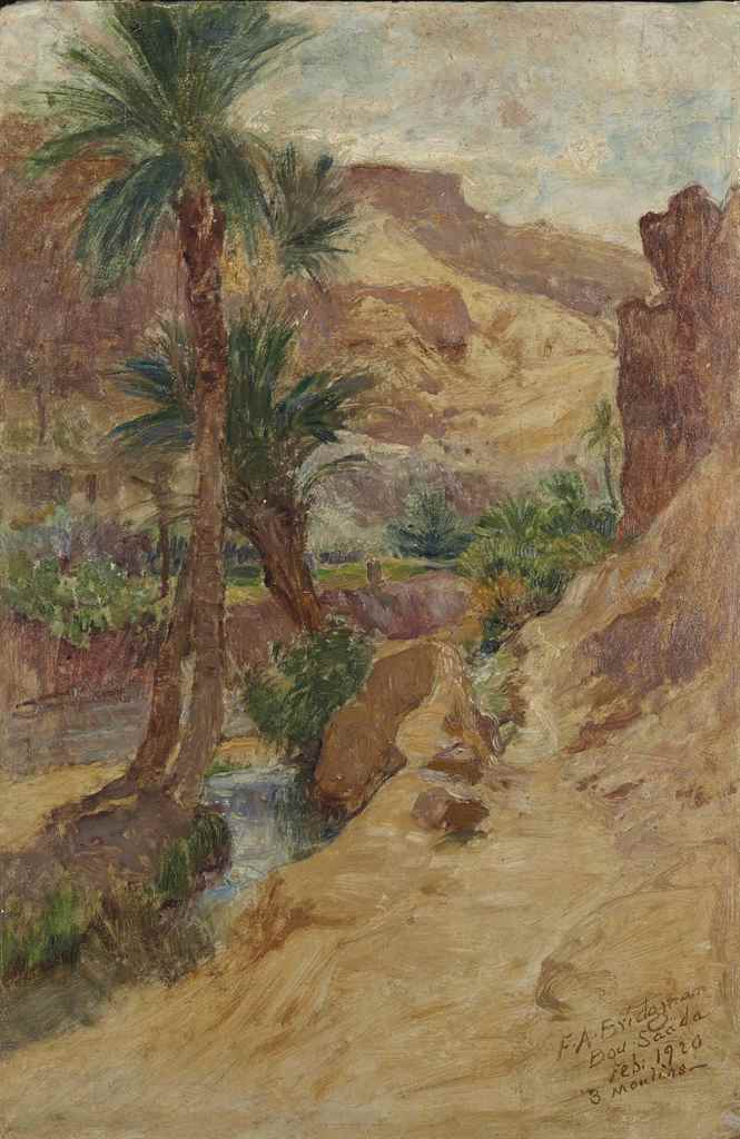 FRÉDÉRIC ARTHUR BRIDGMAN (1847