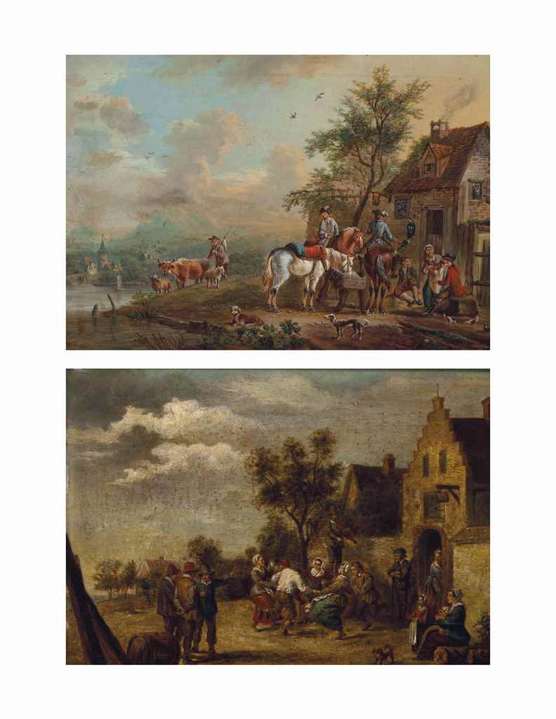 Manner of David Teniers II; an