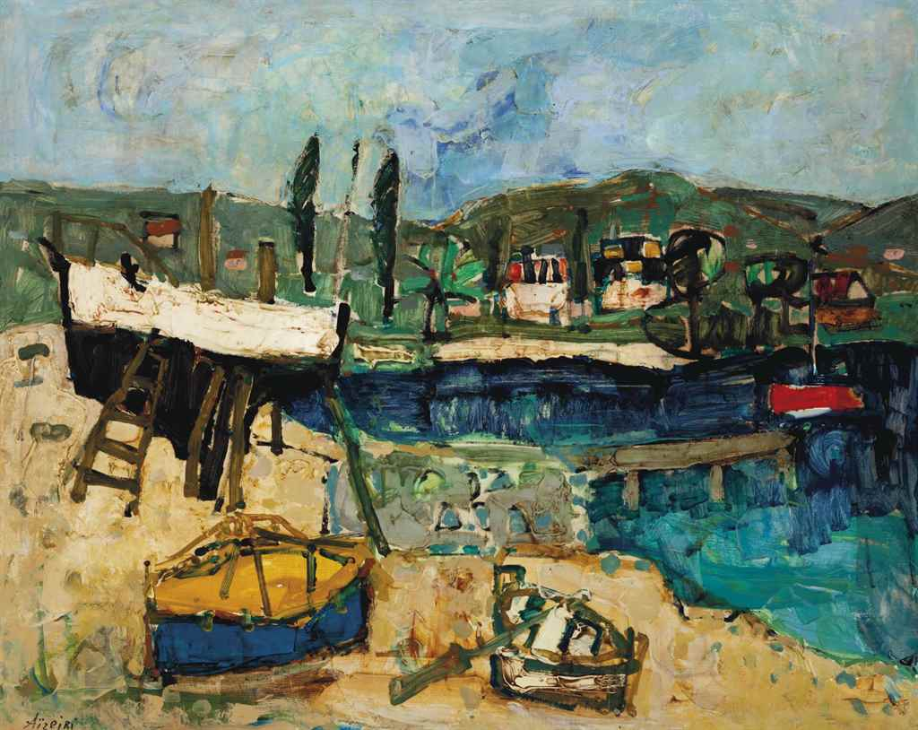 Paul Aïzpiri (French, b. 1919)