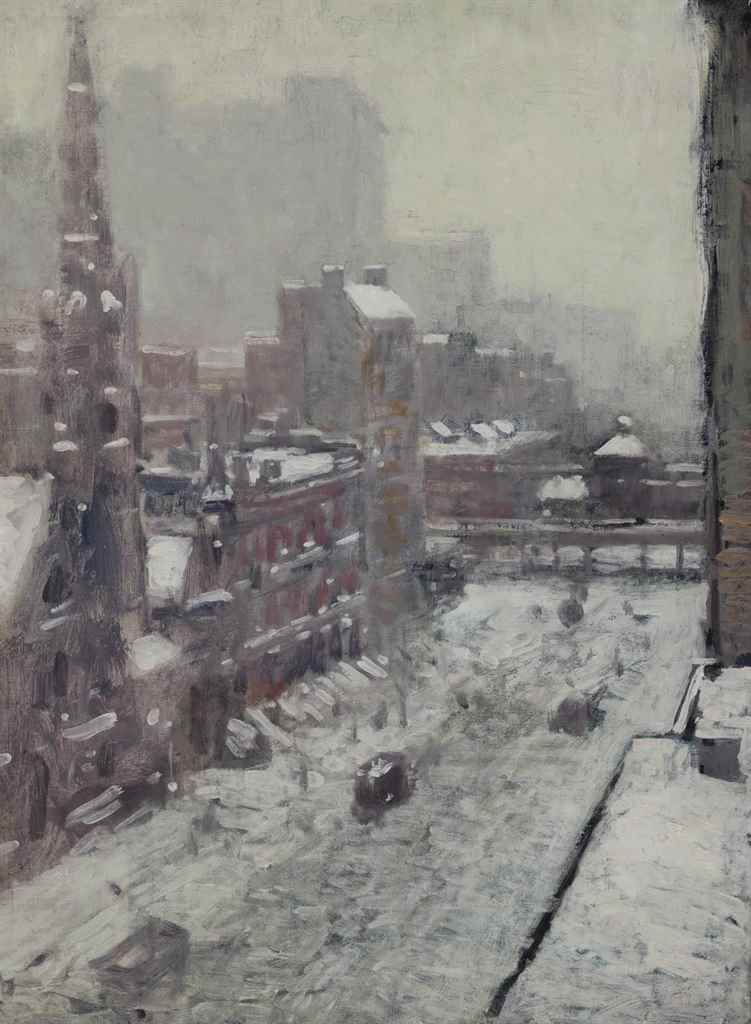 Paul Cornoyer (American, 1864-