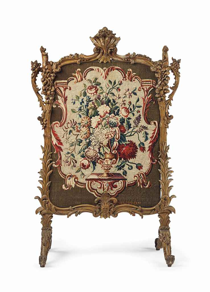 A LOUIS XV STYLE BEECHWOOD AND