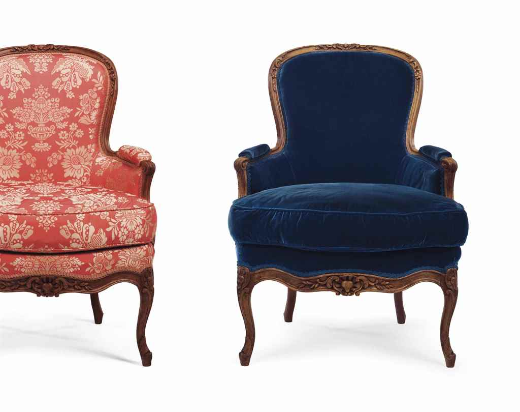 A PAIR OF LOUIS XV BEECHWOOD B