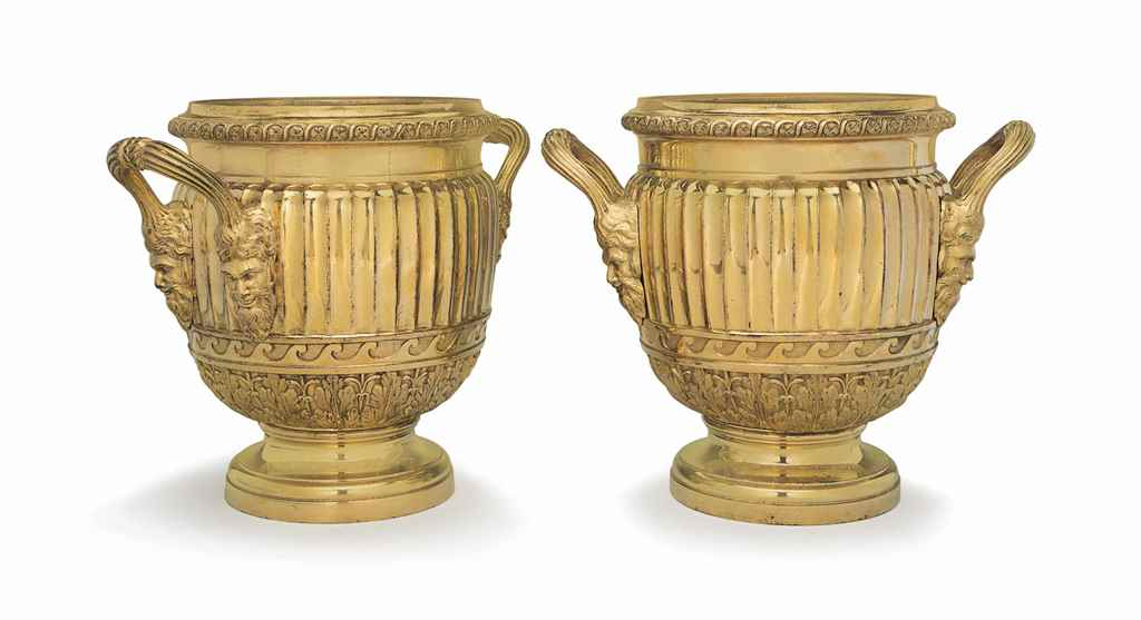 A PAIR OF GEORGE III ORMOLU IC