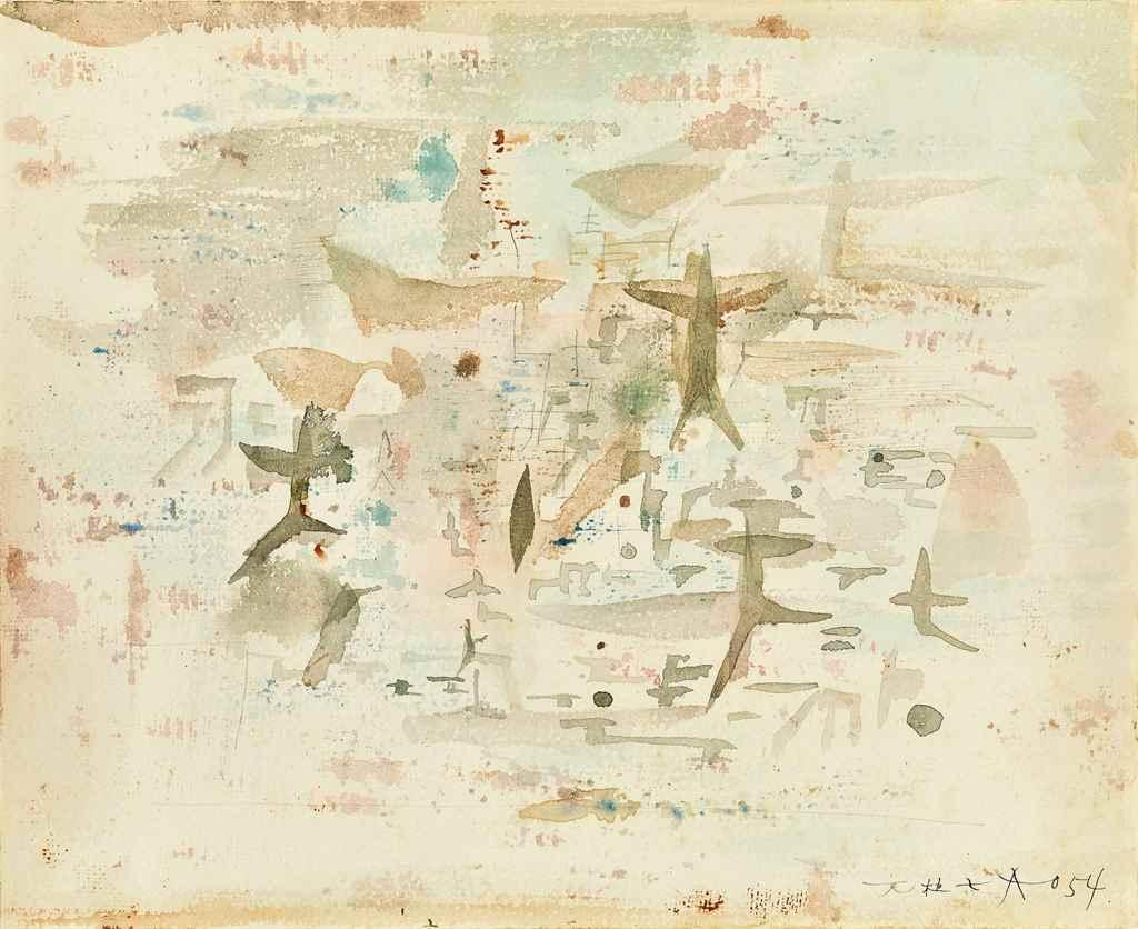 Zao Wou-Ki (Zhao Wuji, French/