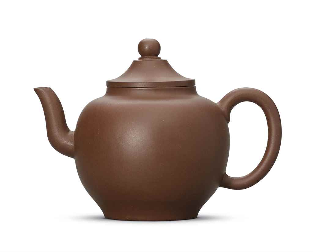 A YIXING TEA POT