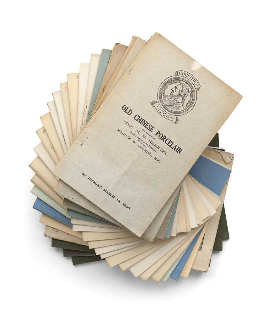 A GROUP OF AUCTION CATALOGUES