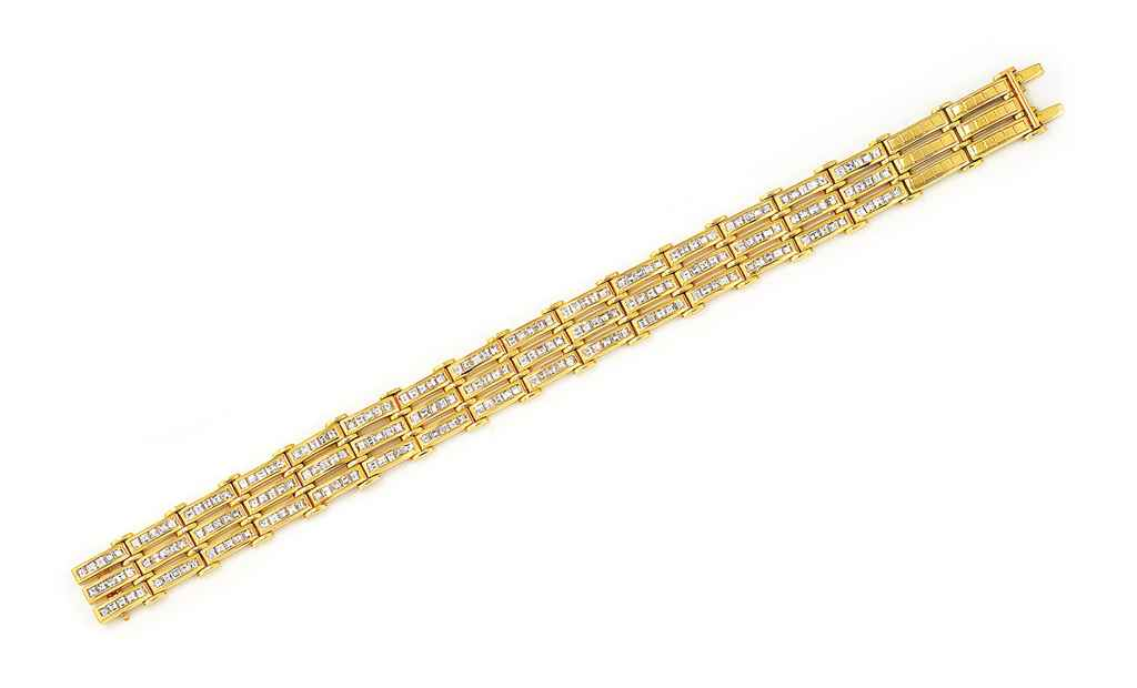A DIAMOND-SET BRACELET, BY ADL
