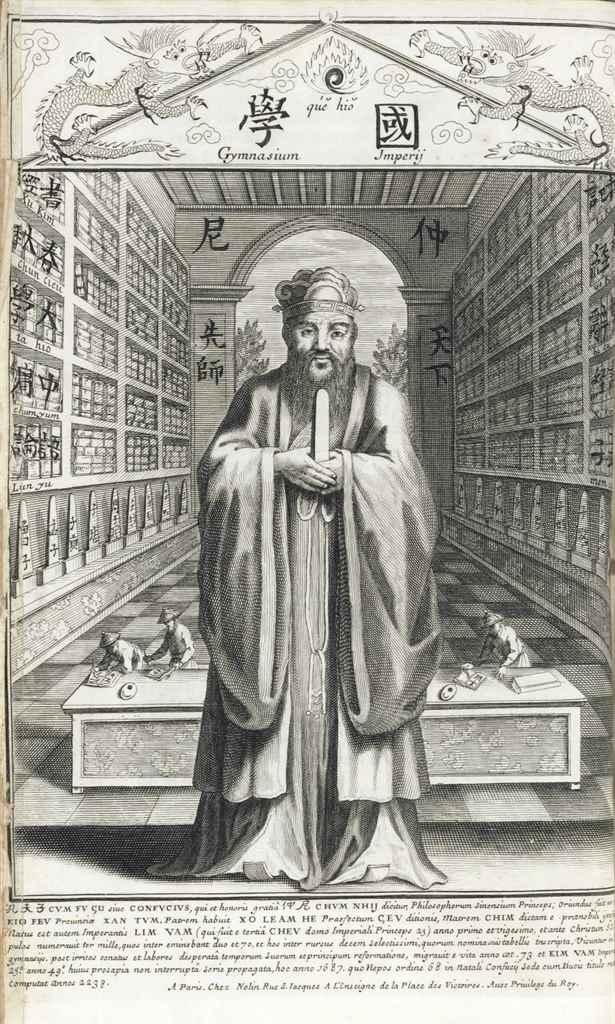 CONFUCIUS (551-479 B.C.). Sina