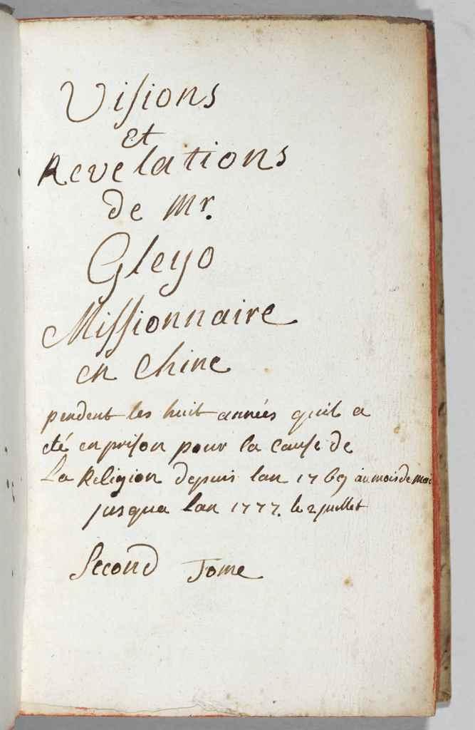 "GLEYO, Jean-François. ""Visions"