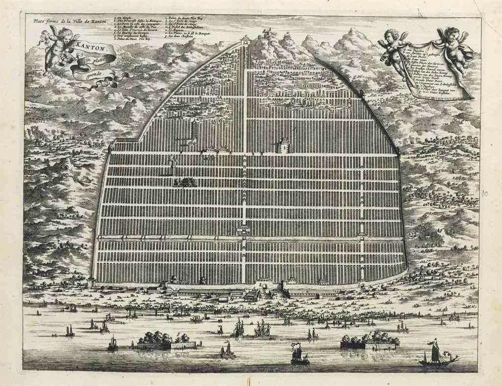 NIEUHOFF, Jan (1618-1672). L'A