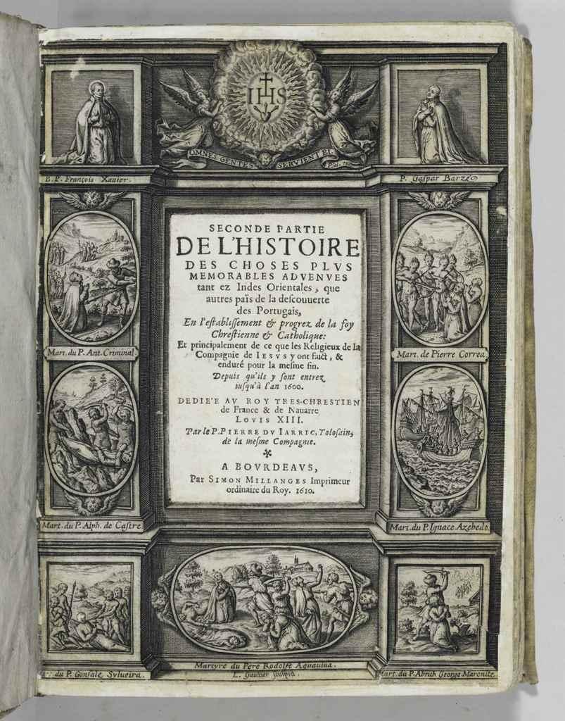DU JARRIC, Pierre (1566-1617).