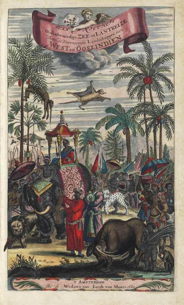 NIEUHOFF, Jan (1618-1672). Ged