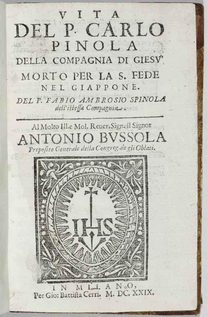 SPINOLA, Fabio Ambrogio (1593-