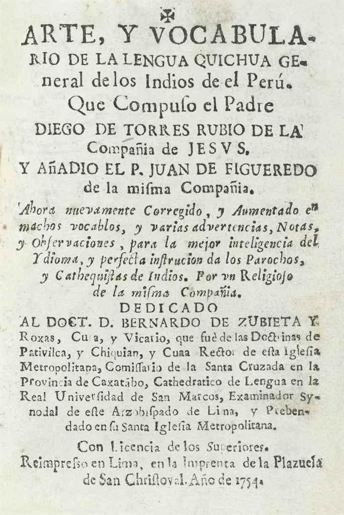 TORRES RUBIO, Diego de (1547-1