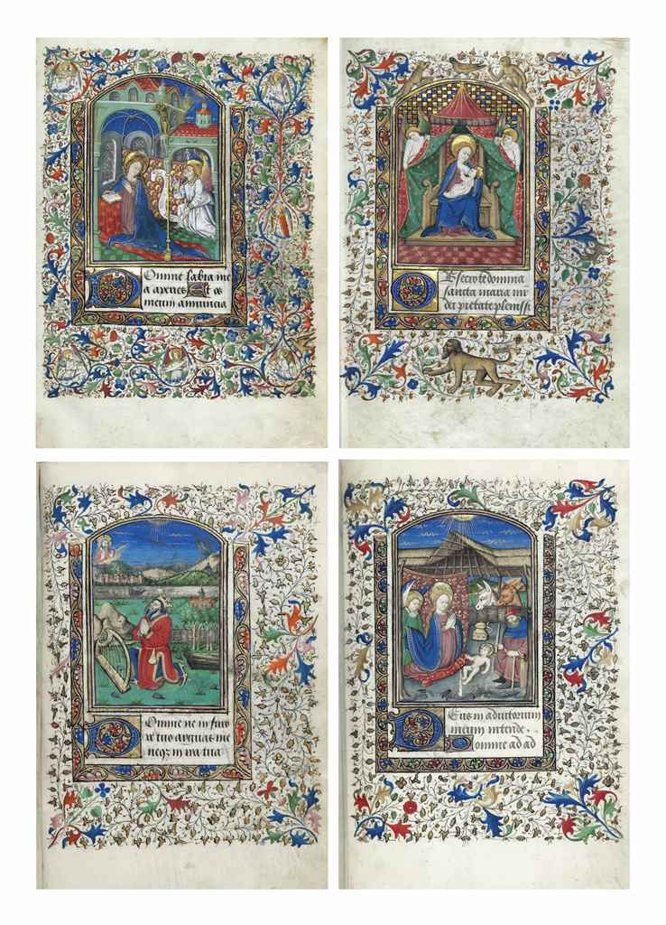 BOOK OF HOURS, use of Besançon
