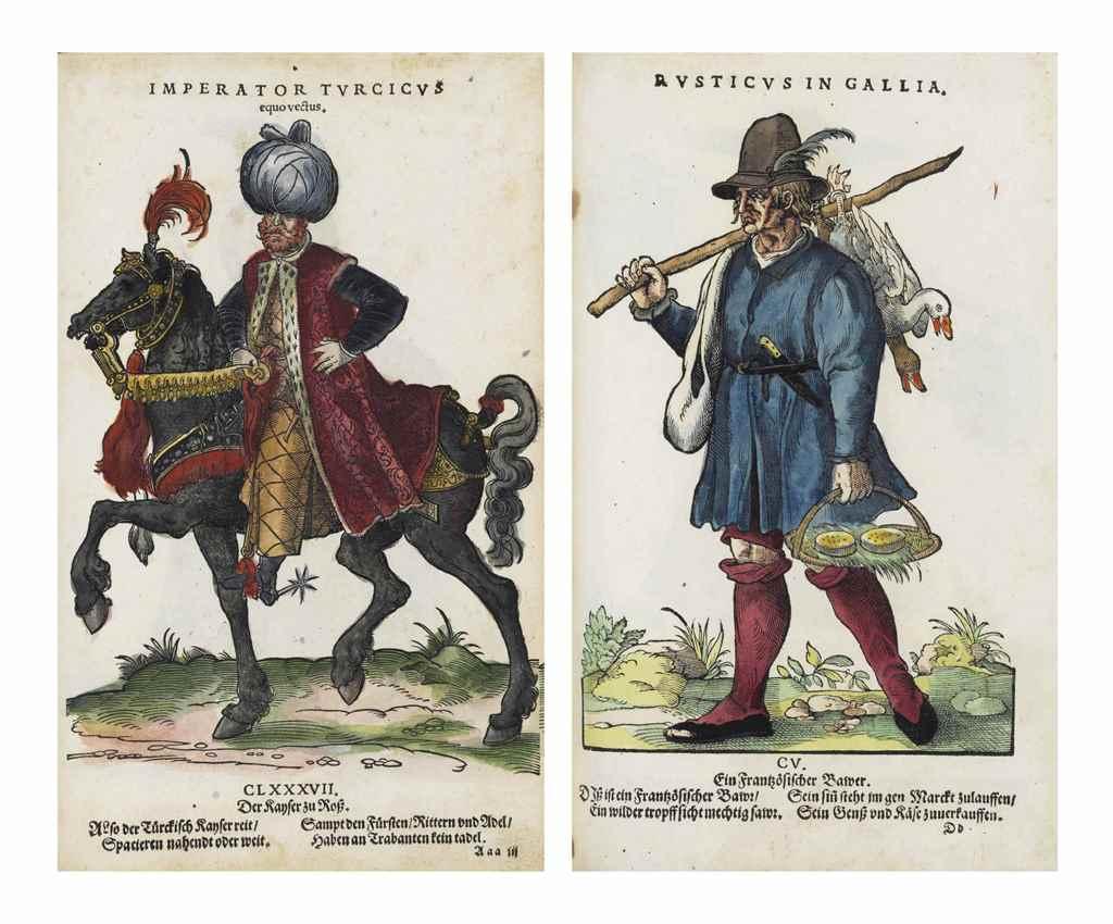 [AMMAN, Jost (1539-1591)]. Hab