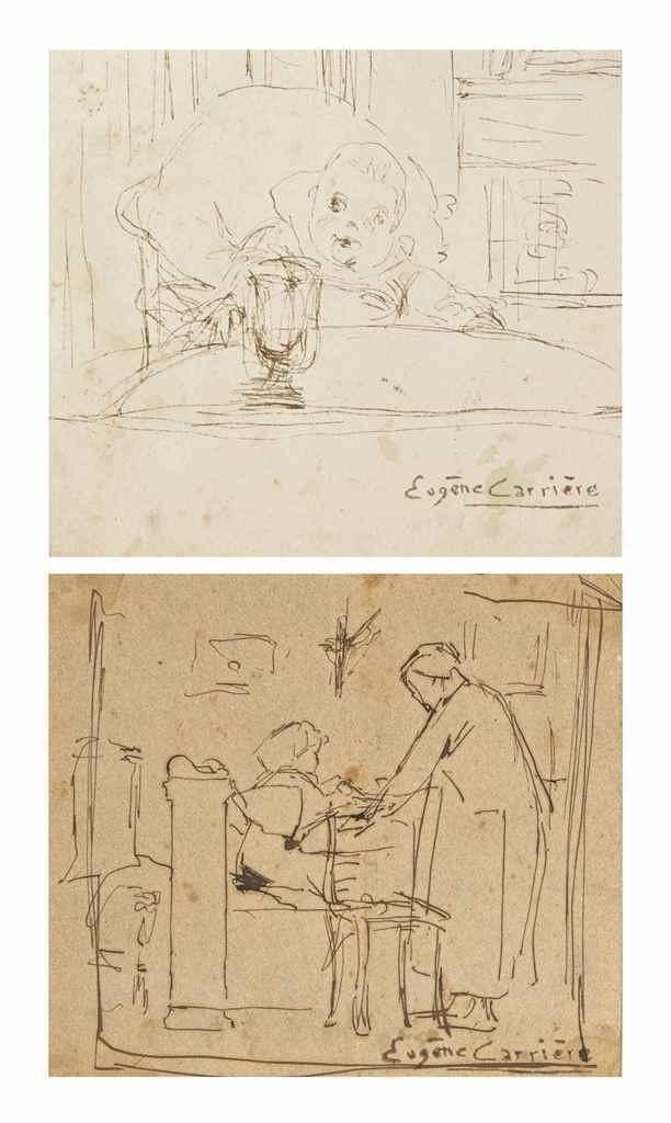 EUGÈNE CARRIÈRE (GOURNAY-SUR-M