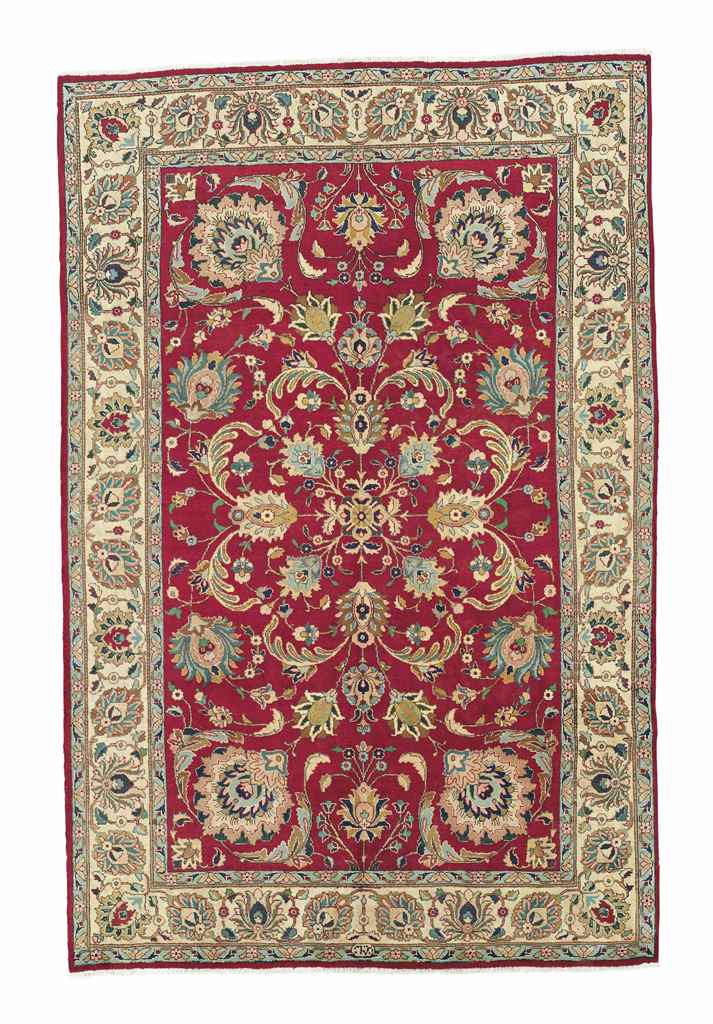 AN UNUSUAL AZERBAIJAN CARPET &
