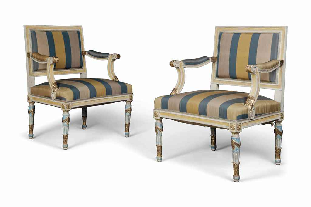 A PAIR OF BALTIC NEOCLASSICAL