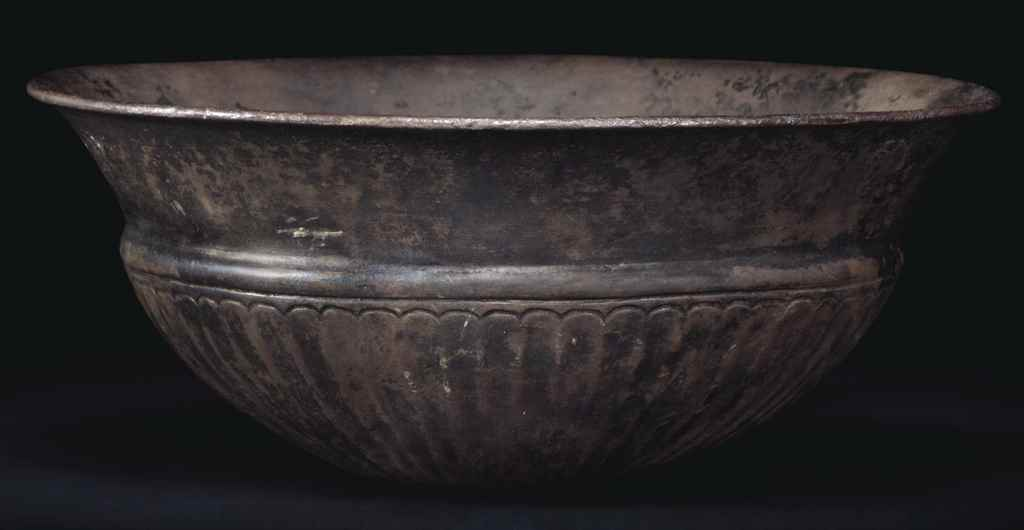 A GREEK SILVER BOWL