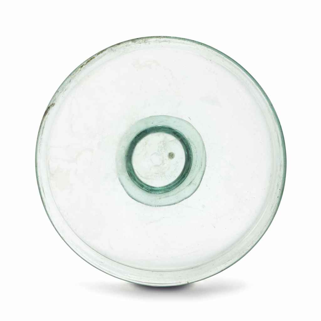 A LATE ROMAN GLASS DISH
