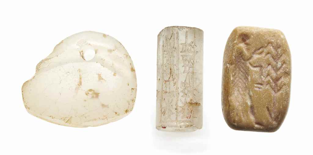 THREE NEAR EASTERN STONE SEALS