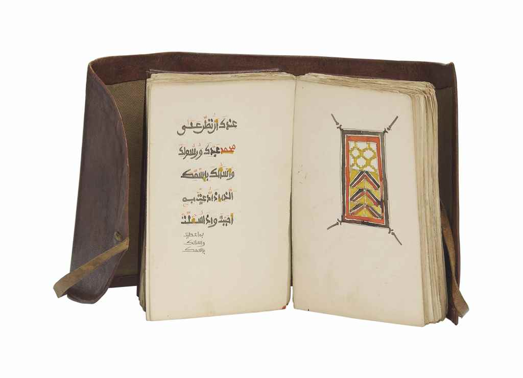 A FINE SUDANESE PRAYER BOOK