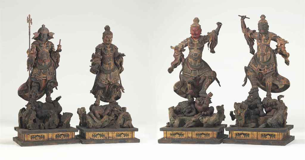 A set of the Four Guardian Kin