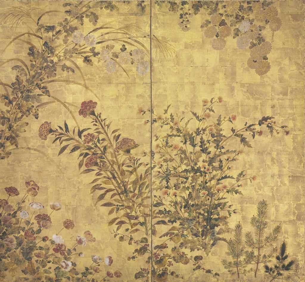 Studio of Tawaraya Sotatsu (17