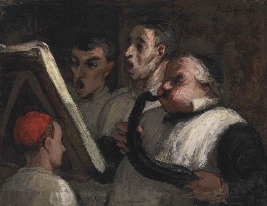 Honoré Daumier (Marseille 1808