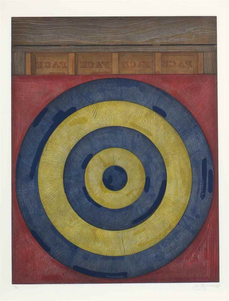 JASPER JOHNS (B. 1930) , Target with Four Faces | Christie's