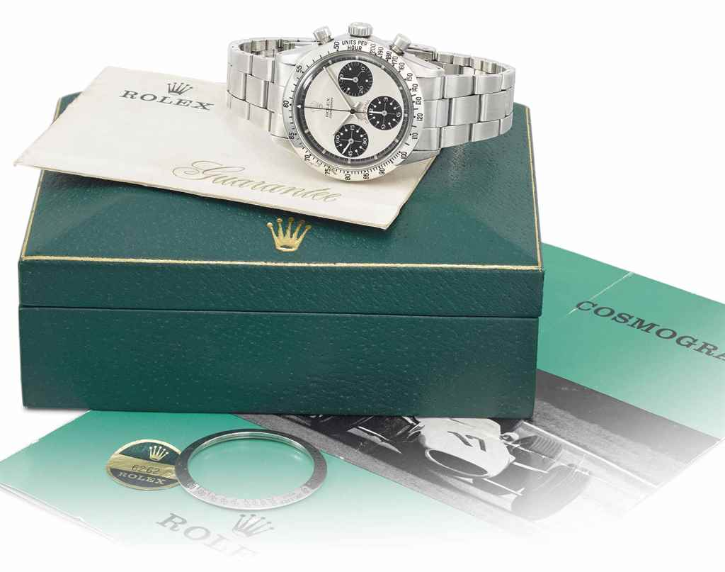 Rolex. A very fine and rare st