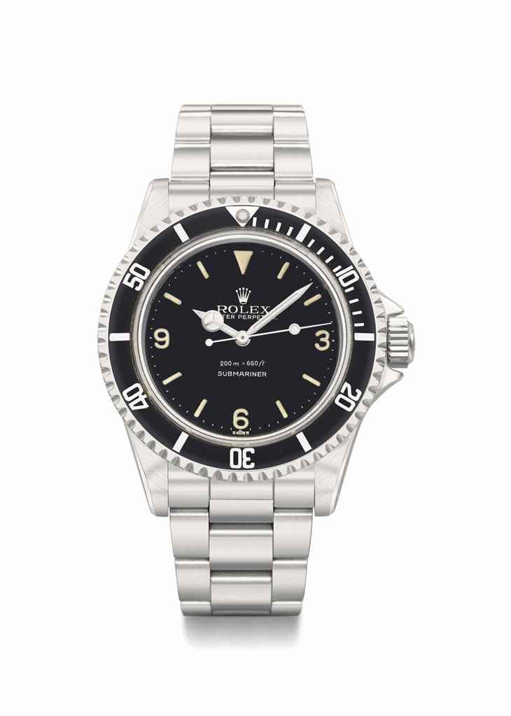 Rolex. A very rare and fine st
