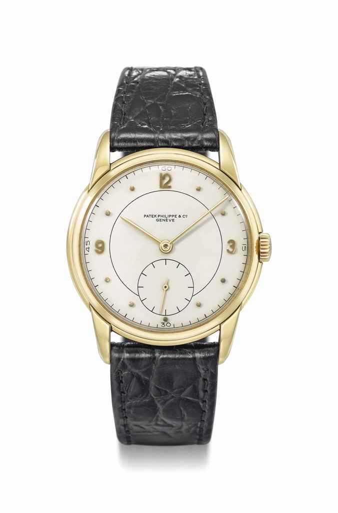 Patek Philippe. A large and un