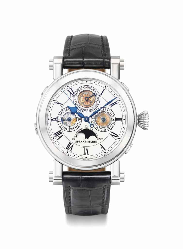 Speake-Marin. A fine, rare and