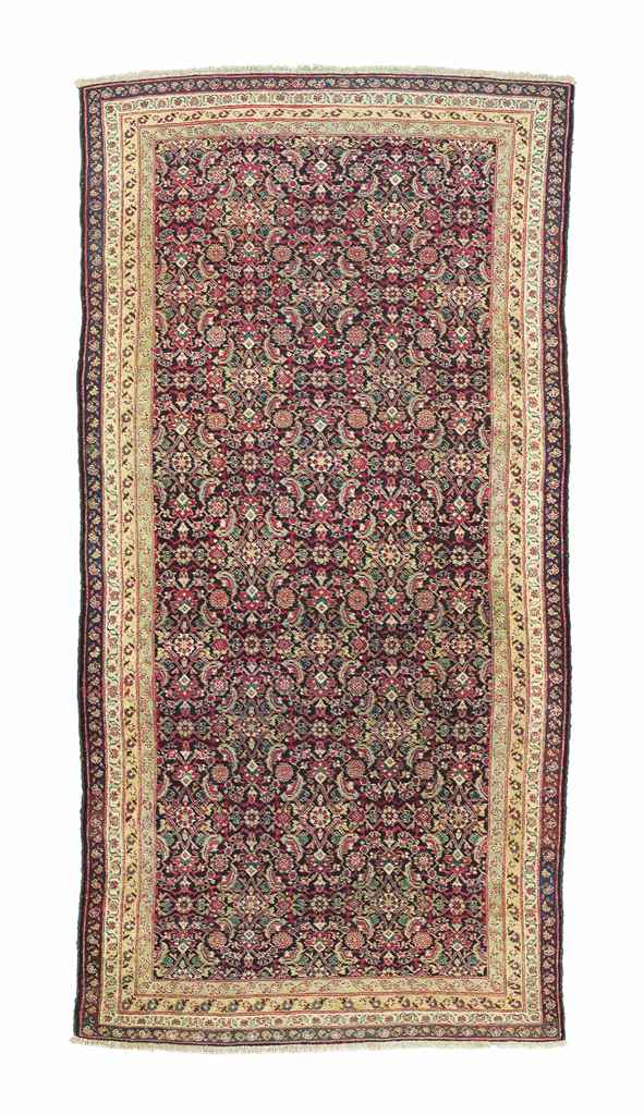 AN AGRA LONG RUG