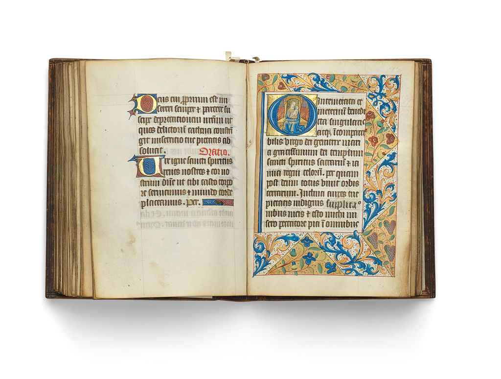BOOK OF HOURS, use of Coutance