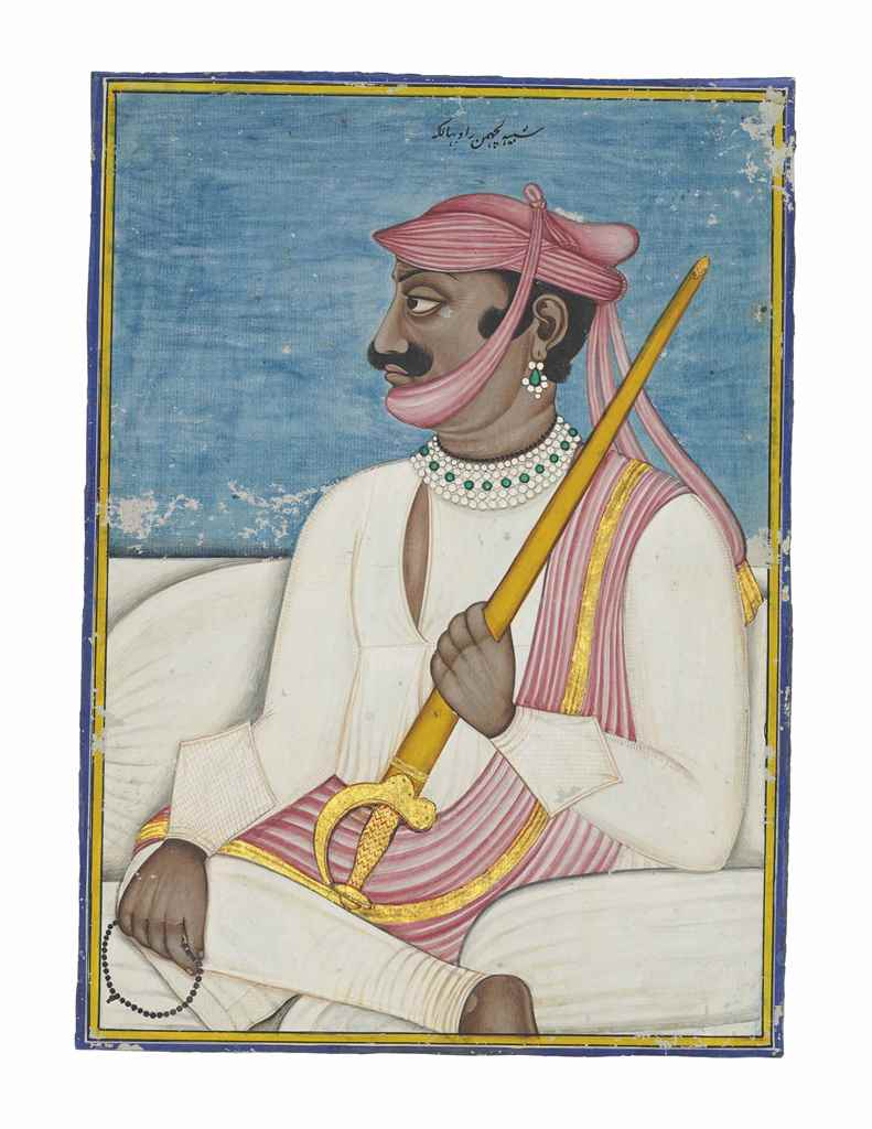 A PORTRAIT OF A MARATHA GENERA