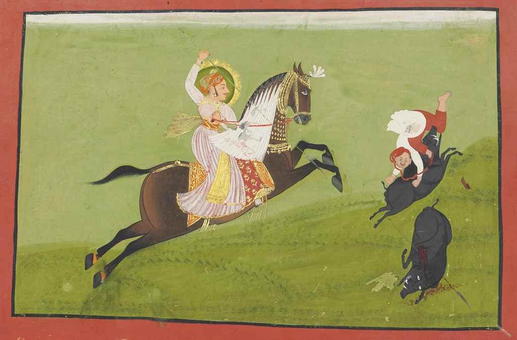 MAHARANA ARI SINGH II HUNTING