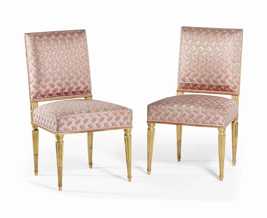 Paire de chaises a la reine d 39 epoque louis xvi for Chaises louis xvi occasion