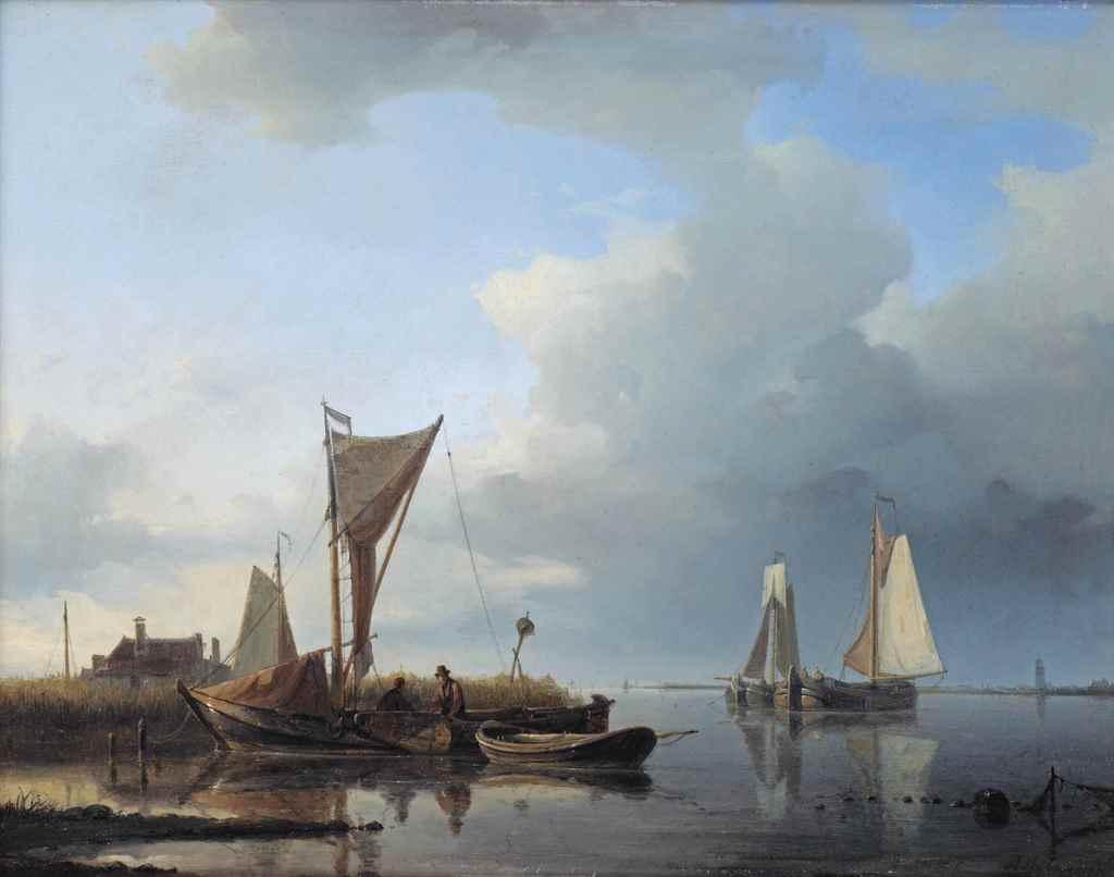 Abraham Hulk Sen. (London 1813