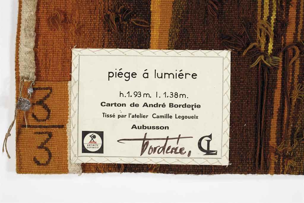 ANDRÉ BORDERIE 1923-1998