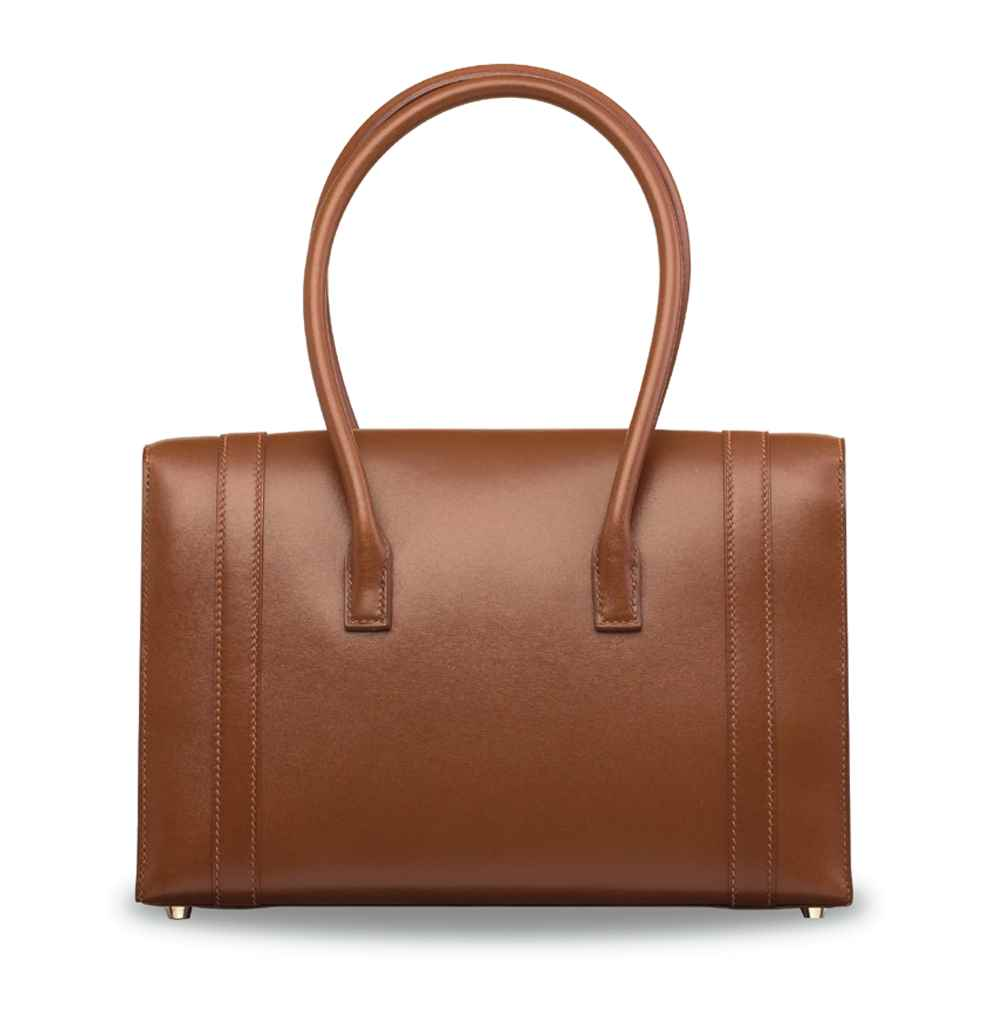 A NOISETTE CALF BOX LEATHER DR