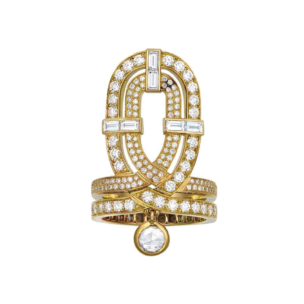 AN EXCEPTIONAL, DIAMOND & 18K