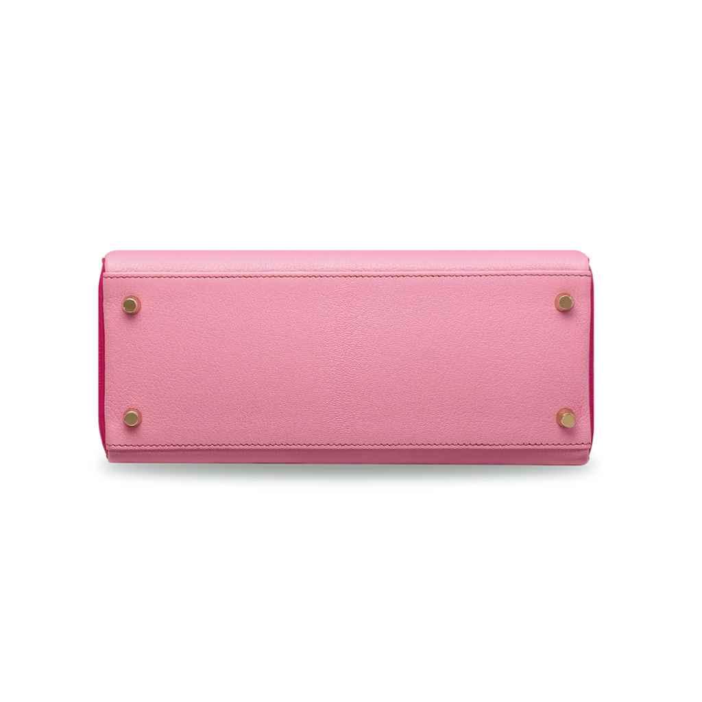 A CUSTOM PINK 5P & ROSE SHOCKI