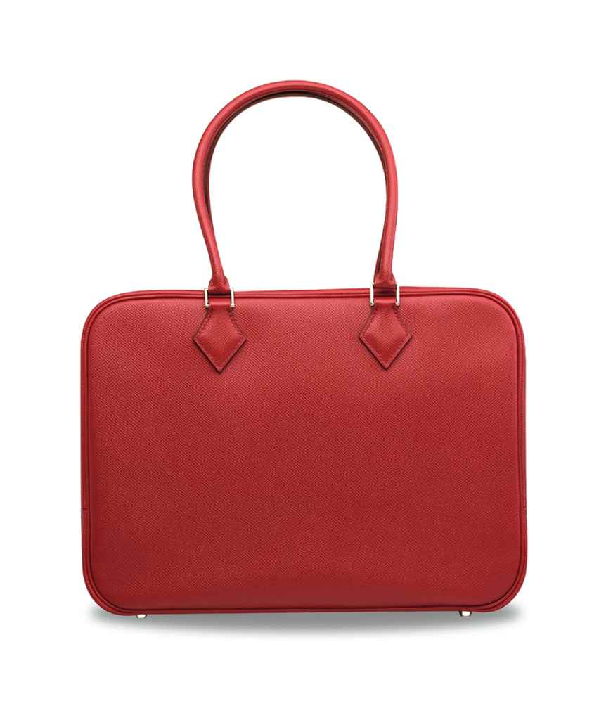 A ROUGE GARANCE EPSOM LEATHER