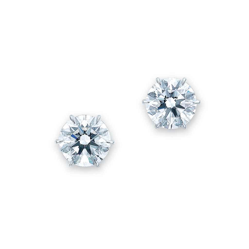 AN IMPORTANT PAIR OF DIAMOND E