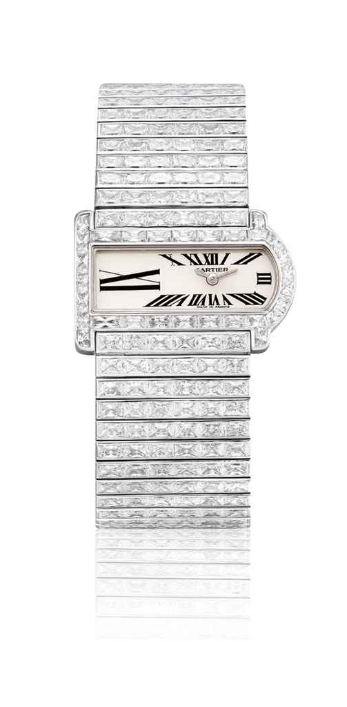 CARTIER. A LADY'S SUPERB AND V