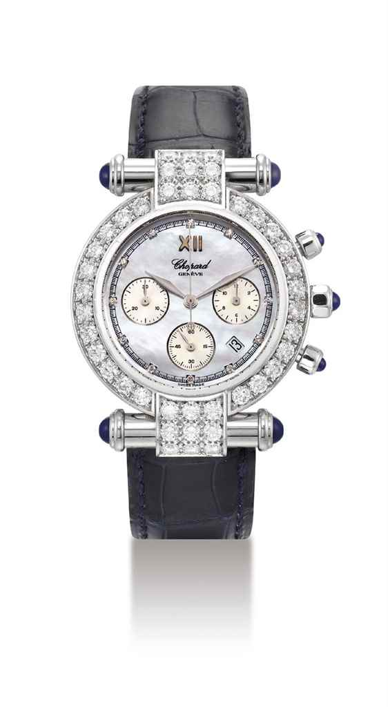 CHOPARD. A FINE 18K WHITE GOLD