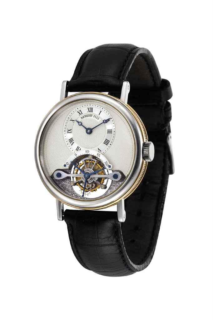 BREGUET. A FINE PLATINUM AND 1